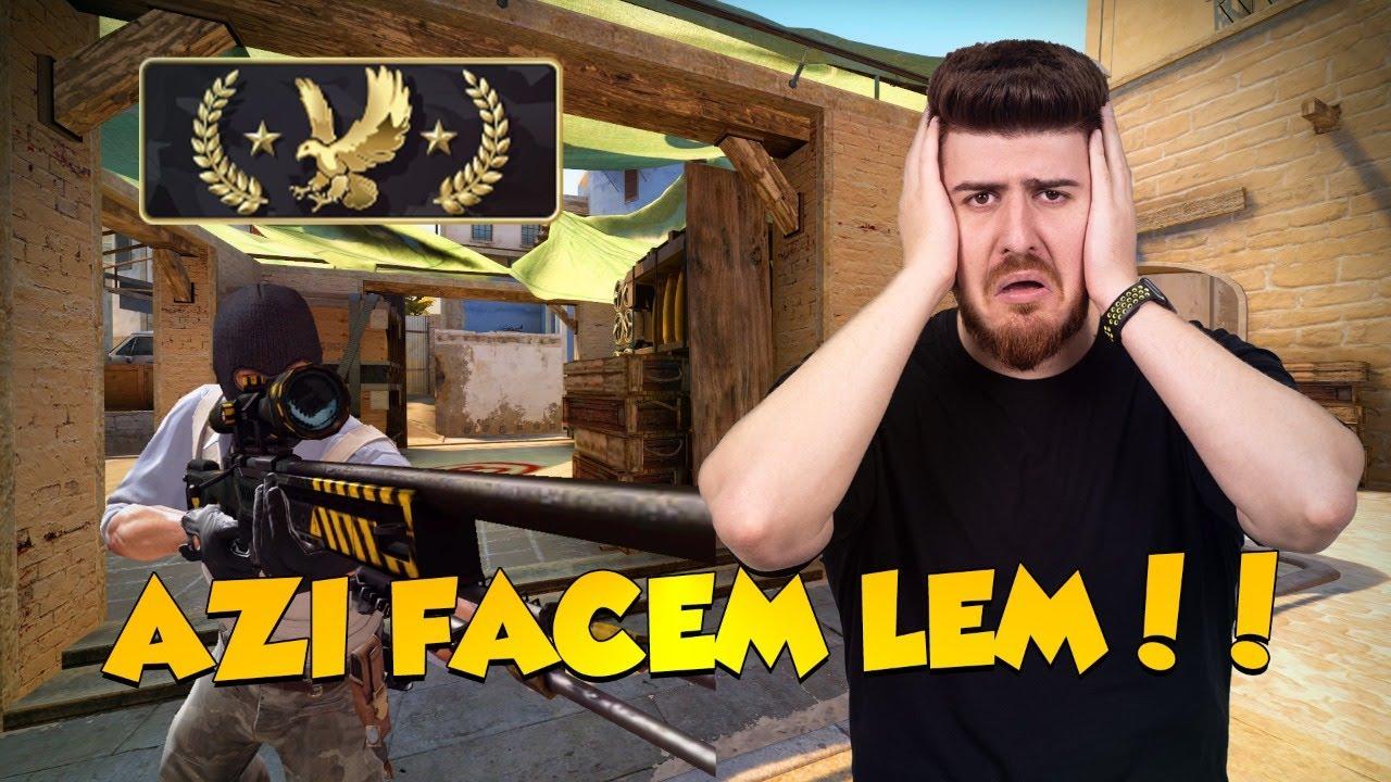 ? LIVE ROMANIA - JUCAM CS:GO PANA FACEM LEM!