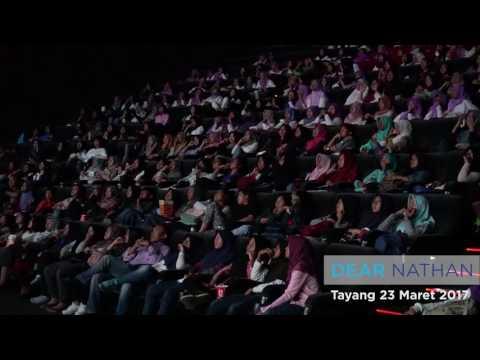Reaksi Penonton -Dear Nathan- didalam Bioskop