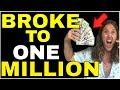 How I Went From BROKE To MILLIONAIRE In Less Than 2 Years | Law of Attraction Money