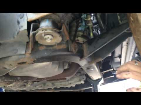 How to replace a 2007 Saturn Vue AC compressor (Easy Way)