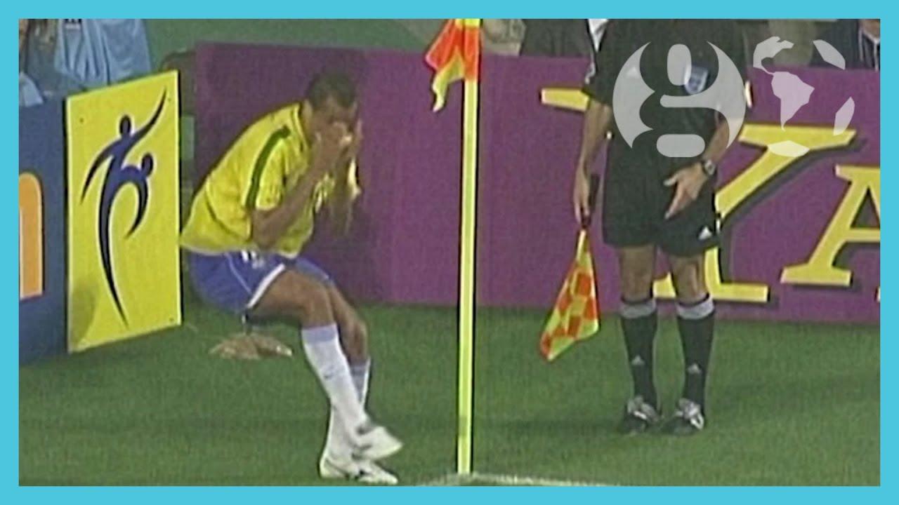 Japan Korea 2002: Rivaldo's dive, Ronaldinho's free kick & Ronaldo's goals | The