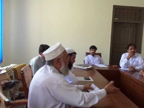 District councal Tor ghar no-confidance meeting ,at judba dc hall