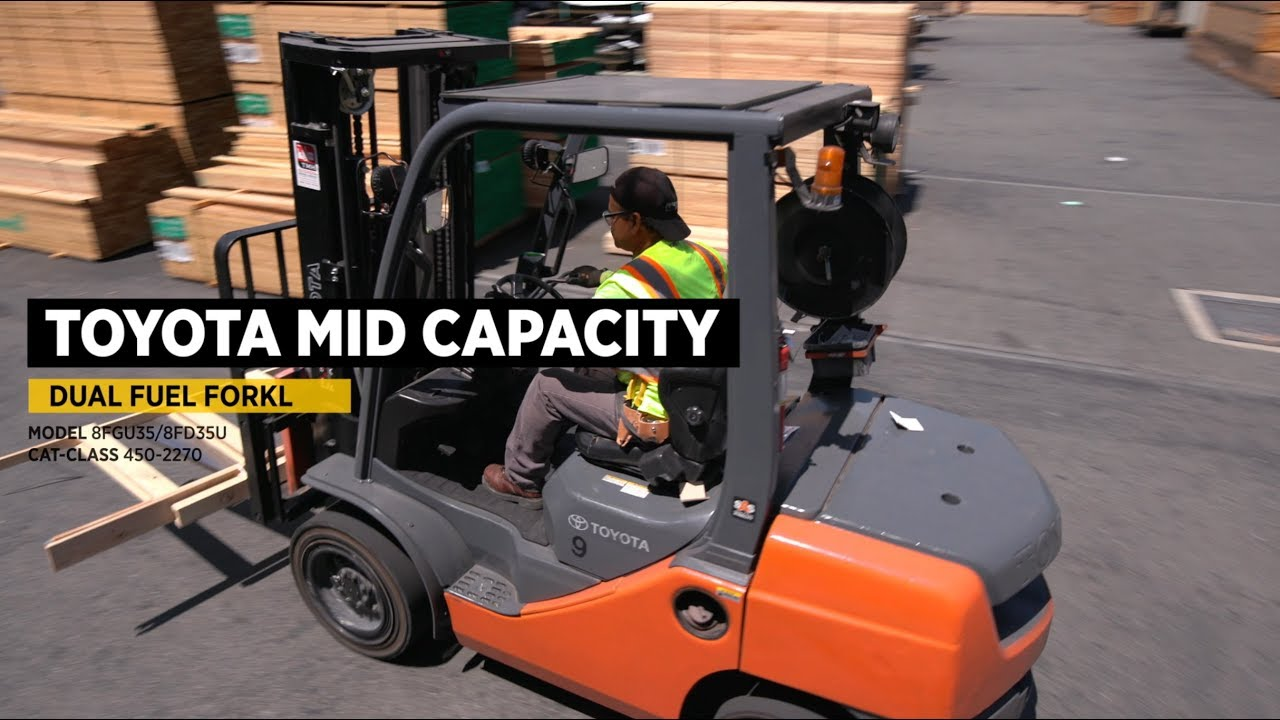 Mid-Capacity Internal Combustion Warehouse Forklifts For