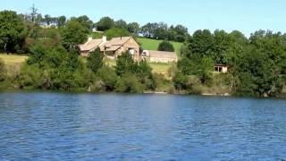 Le Gîte de la Presqu'île - Vue du lac - Aveyron