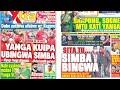 Magazeti ya Michezo Leo Jnne Tar 18 May 2021,Simba Kukabidhiwa ubingwa na Yanga