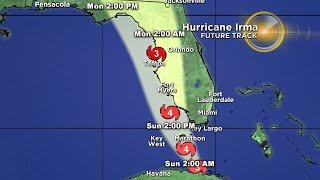 Tracking Hurricane Irma 9-9-17 8PM thumbnail