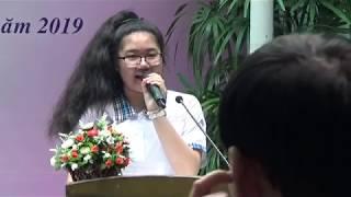 Bài phát biểu cảm nghĩ của học sinh- Võ Ngọc Minh Anh