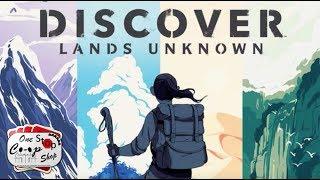 Discover: Lands Unknown - Scenario 1: 1/2