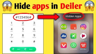 How To Hide Apps on Android 2021 (No Root) | Dialer Vault hide app | how to hide apps on android screenshot 4