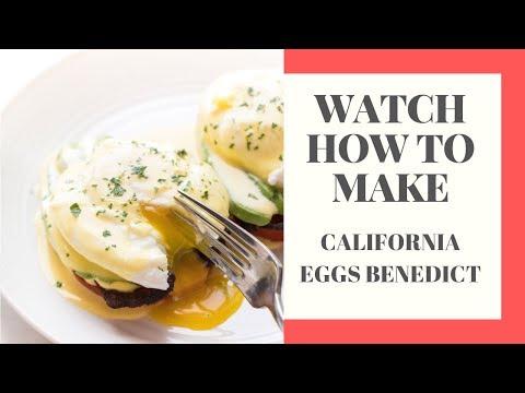 Whole30 + Keto California Eggs Benedict