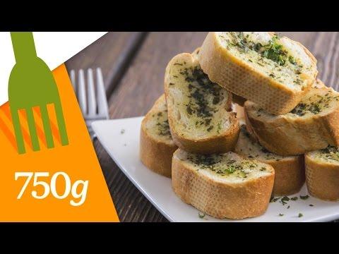 recette-du-garlic-bread---750g