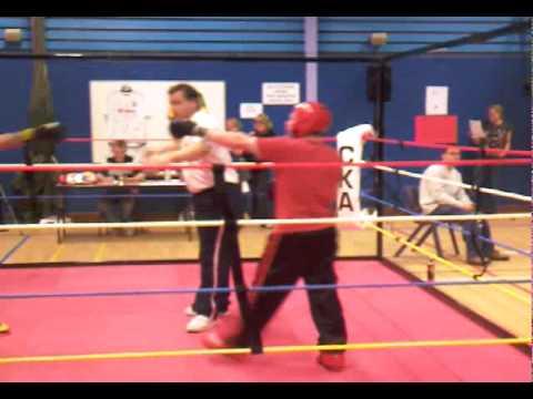 Josh Newman kickboxing