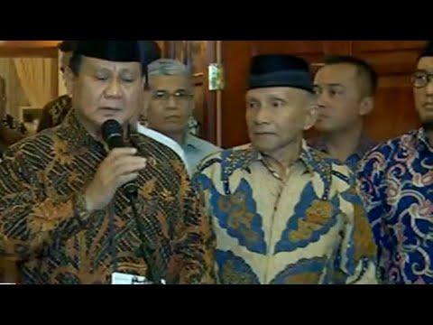 [FULL] Keterangan Pers Prabowo Terkait Ratna Sarumpaet