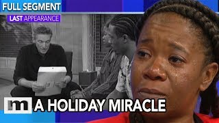 I need a family for the holidays! | The Maury Show