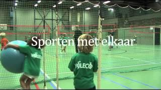 Volleybal speeltuin Voleco