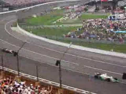 2007 Indy 500 first lap