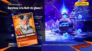 NIGHT OF GLACE - KRAMPUS - HOW to DEFEND !!! #FORTNITE Save the World#SAVETHEWOLRD