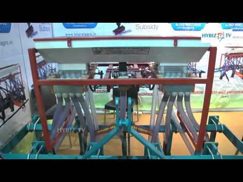 Bharat Agro Engineering - Automatic Seed Drill - AgriHorti Tech India 2016