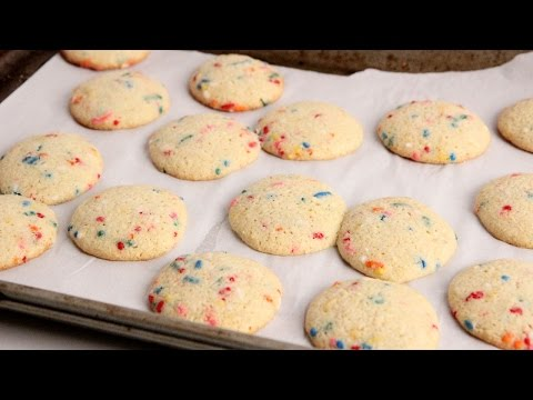 Cake Mix Confetti Cookies - Laura Vitale - Laura In The Kitchen Episode 1014