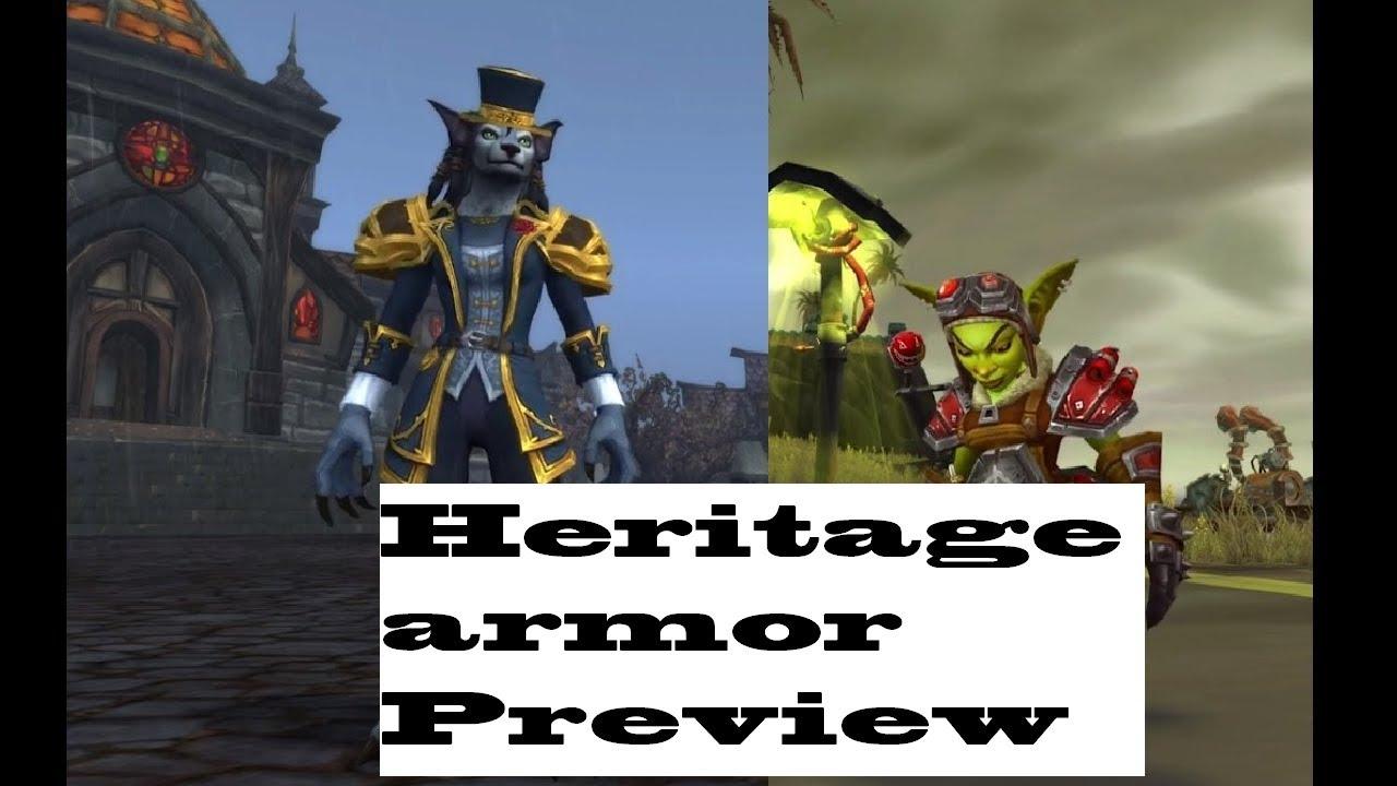 worgen heritage armor
