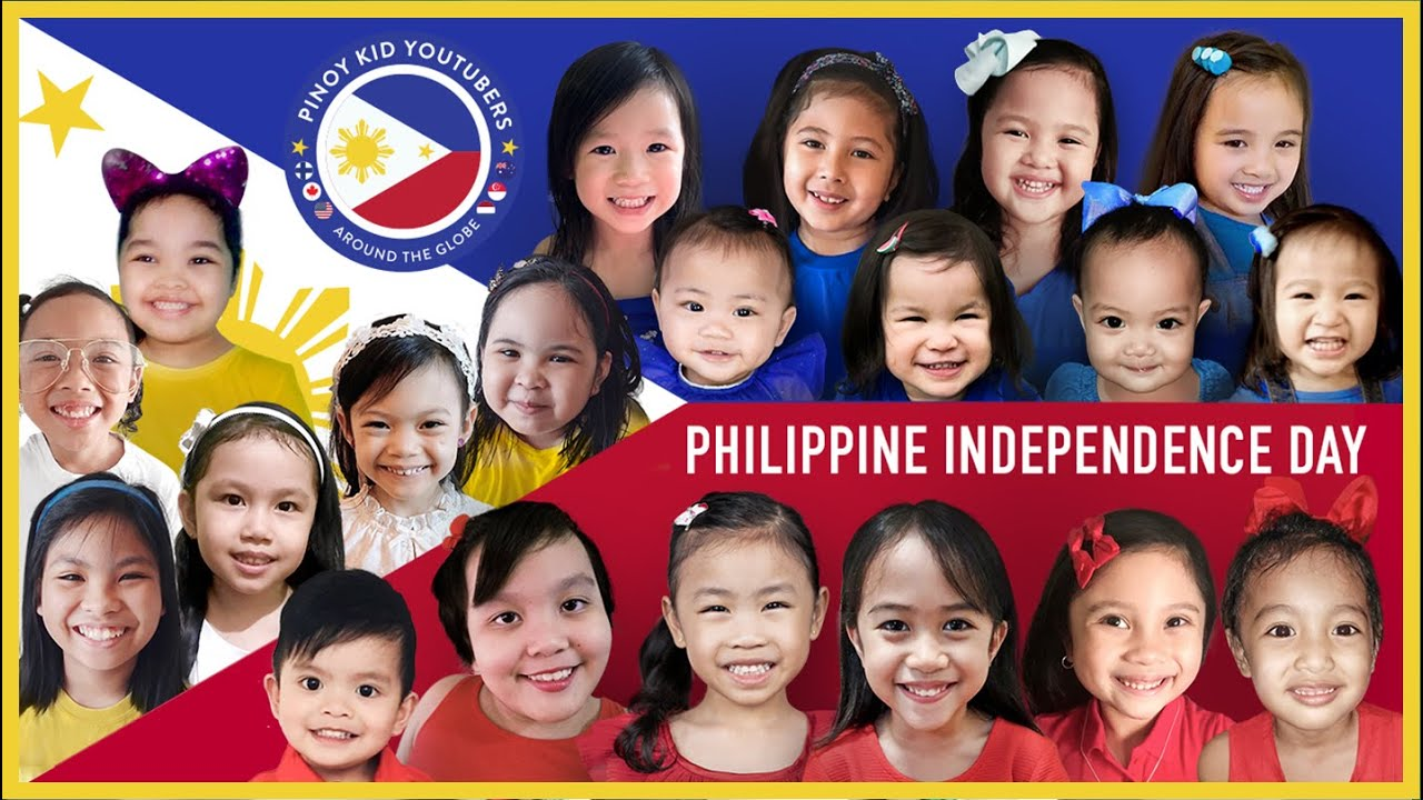 KIDS FROM AROUND THE GLOBE TRIBUTE TO PHILIPPINE INDEPENDENCE DAY