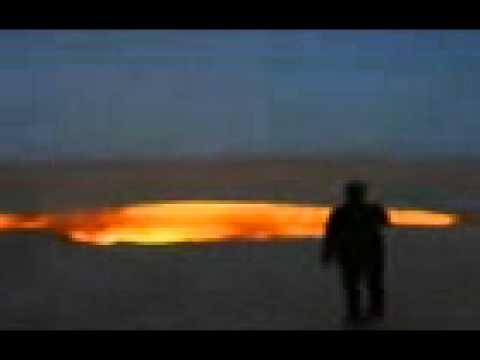 Foto Video Pintu Neraka di Uzbekistan.flv