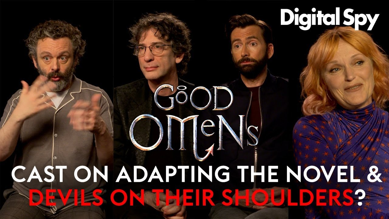 Cast of Good Omens on Terry Pratchetts' legacy and Devils on their shoulders