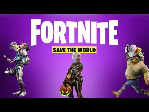 Fortnite | Save The World | Live Multiplayer Gameplay ...