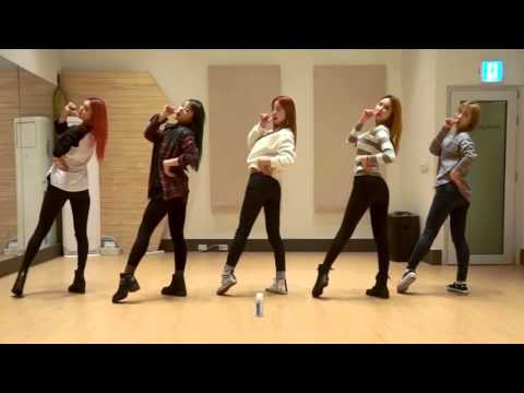 EXID 'Hot Pink' mirrored Dance Practice