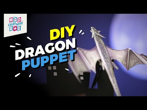How to make a Dragon Puppet