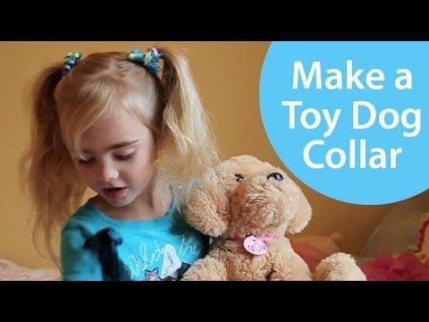 How To Make A Dog Collar For Stuffed Animal