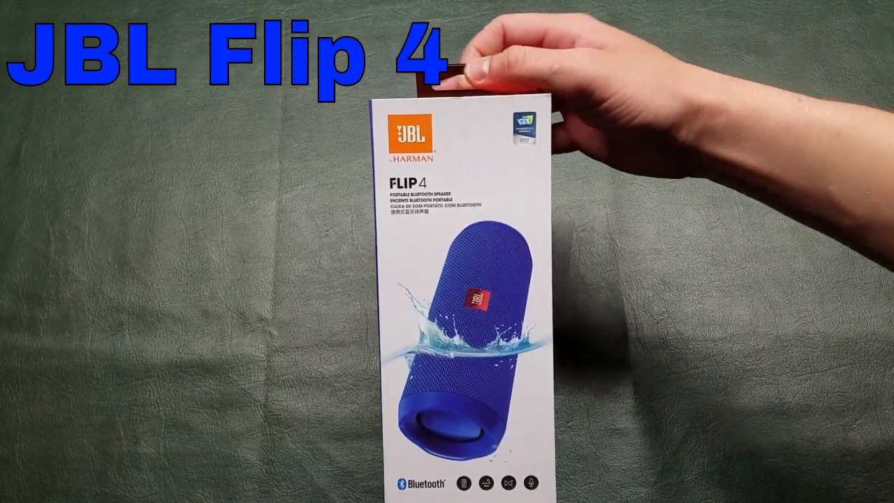 Jbl flip 4 unboxing and review youtube for Housse jbl flip 4