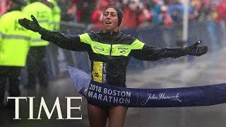 Desiree Linden Just Became The First American Woman To Win Boston Marathon In Three Decades | TIME