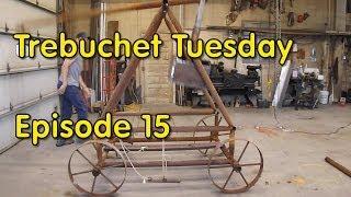 Trebuchet Tuesday - Episode 15 - Installing The Sand Box