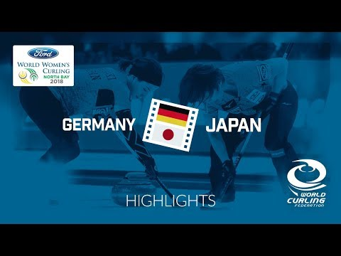 HIGHLIGHTS: Germany v Japan – Round-robin – Ford World Women's Curling Championship 2018