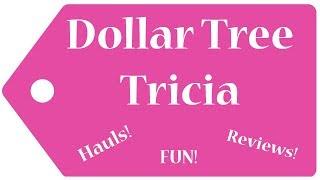 Dollar Tree Haul!  Brand New Items!  10-21-19