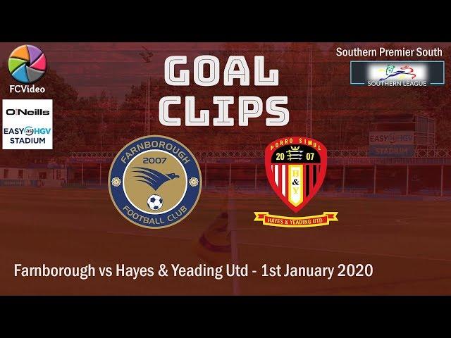 2020-01-01 | Farnborough vs Hayes & Yeading United | Goal