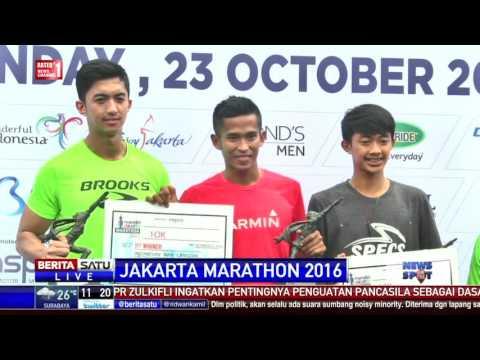 Atlet Kenya Menangi Jakarta Marathon 2016