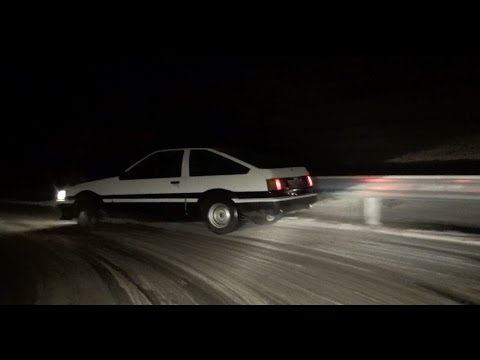 Ae86 Hachiroku Mountain Drift With Brandy Brandner Youtube
