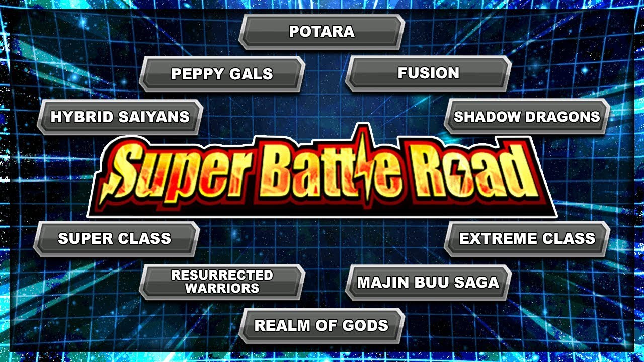 The ULTIMATE Category Super Battle Road Team building GUIDE! ALL STAGES |  DBZ Dokkan Battle