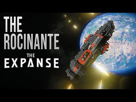 THE ROCINANTE / MCRN TACHI - The EXPANSE - Space Engineers!