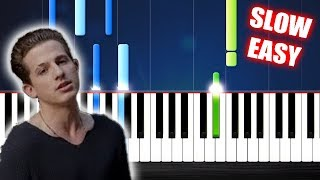 Download lagu Charlie Puth - One Call Away - SLOW EASY Piano Tutorial by PlutaX