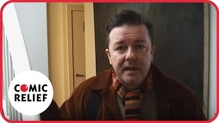 Ricky Gervais in New York | Comic Relief