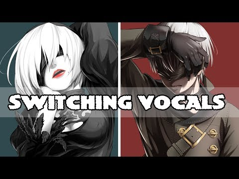 ♪ [NIGHTCORE] TAG, YOU'RE IT X GHOST TOWN (SWITCHING VOCLAS)♪