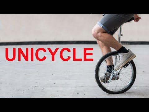 LEARN TO UNICYCLE IN 2HOURS AND 38MINS