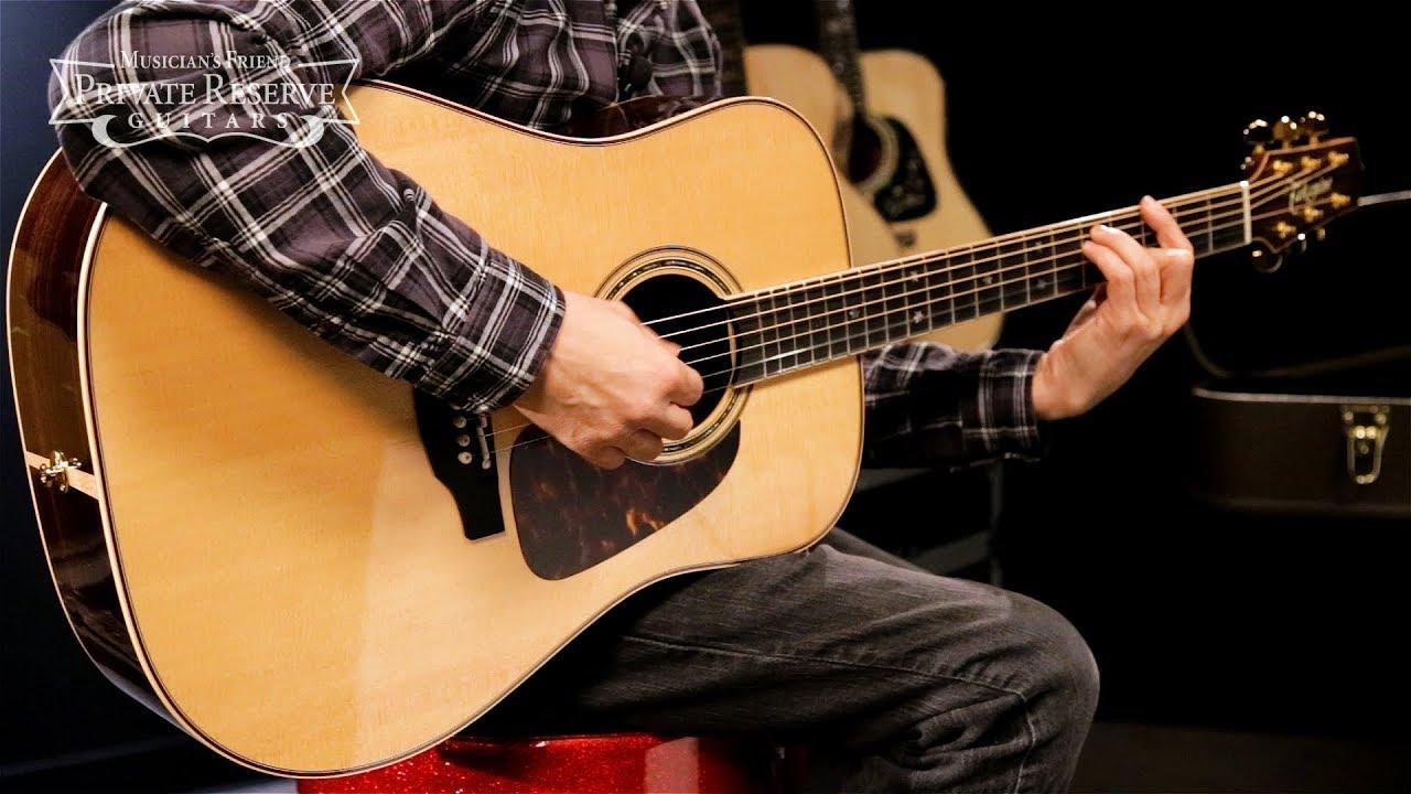 Pro Series P7D Dreadnought Acoustic-Electric Guitar Natural