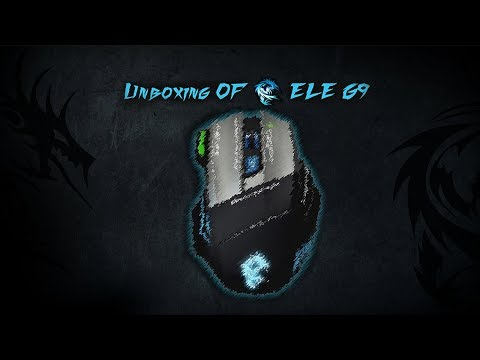 Unboxing of Dragonwar ELE-G9 Gaming Mouse