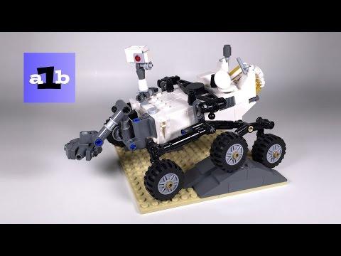 LEGO IDEAS / CUUSOO 21104 NASA Mars Science Laboratory Curiosity Rover #005 Time Lapse Build
