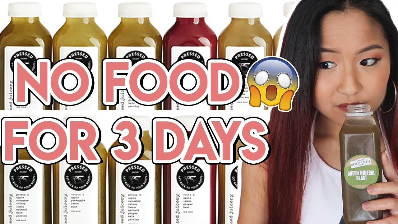 I TRIED A JUICE CLEANSE FOR 3 DAYS AND THIS HAPPENED