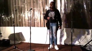 "Southern Word Poetry Slam - ""Orphans"" By Jewelle Vernon"